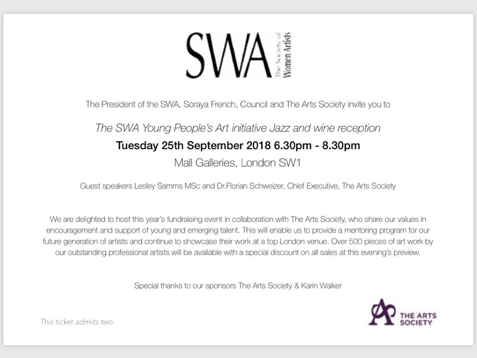 Society of Women Artists Exhibition Invite