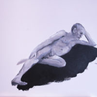 Reclining Nude Man