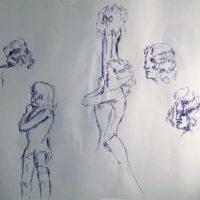 Dr Sketchy 2 minute poses